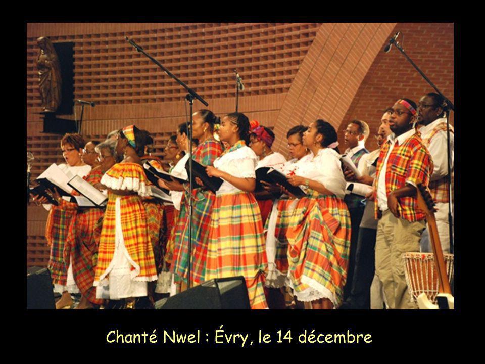 Chanté Nwel : Évry, le 14 décembre