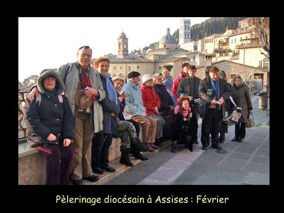 Pèlerinage diocésain à Assises : Février