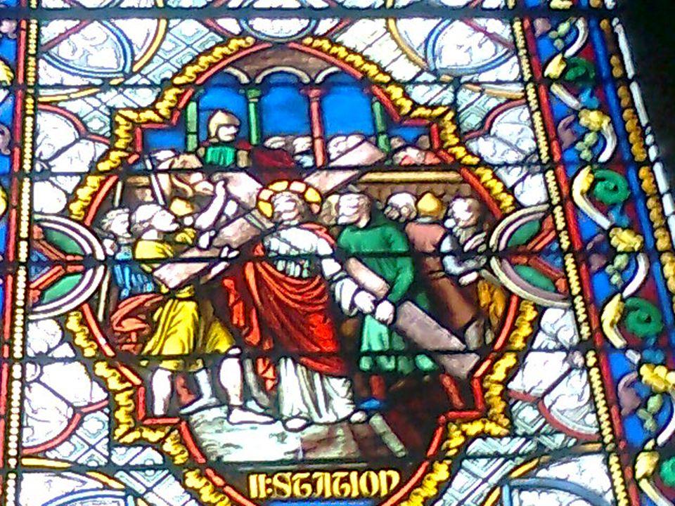 Jésus tombe pour la première fois « Et le grain est tombé dans la bonne terre.