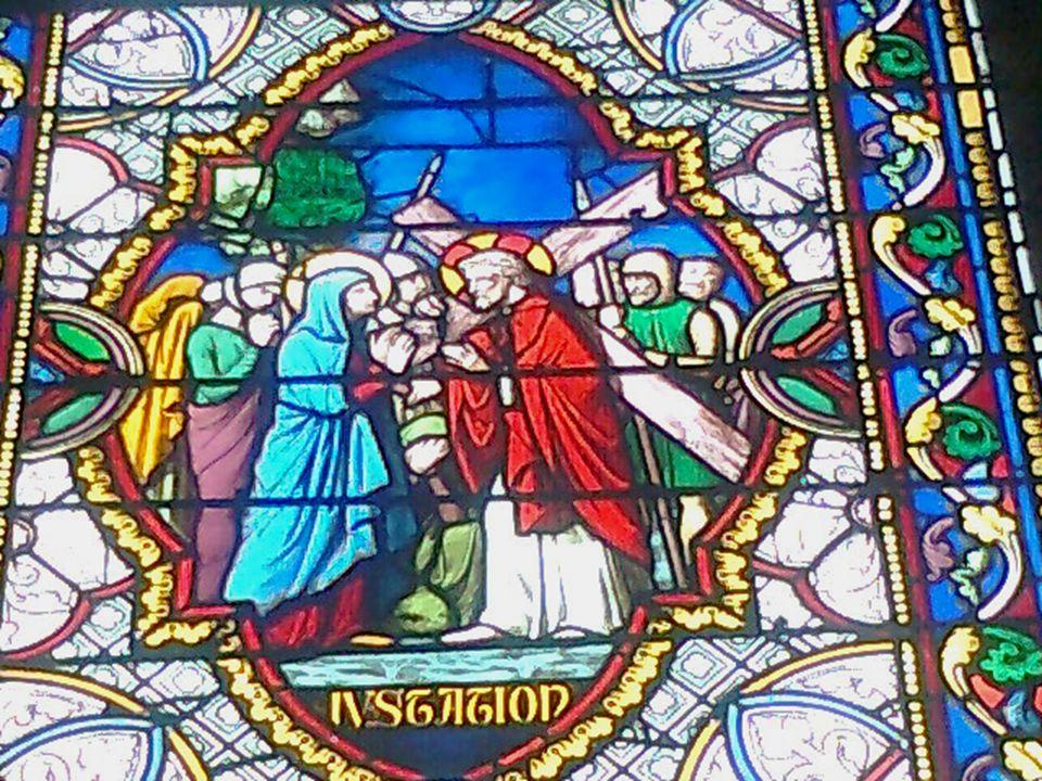 Simon de Cyrène « Ils trouvèrent un homme de Cyrène, du nom de Simon ; ils le requirent pour prendre sa croix » Matthieu 27, 32 Réquisitionné.