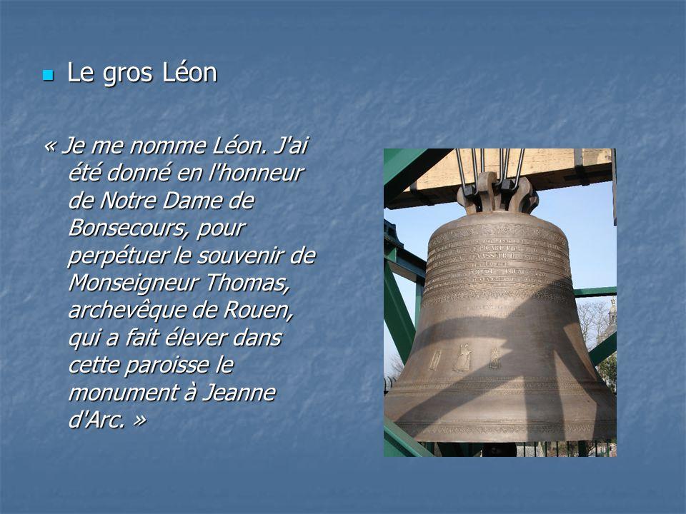 Le gros Léon Le gros Léon « Je me nomme Léon.