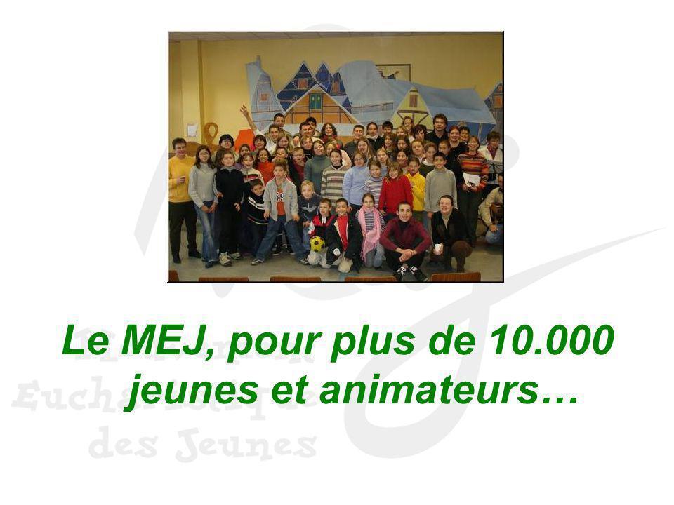 Le MEJ, pour plus de 10.000 jeunes et animateurs…