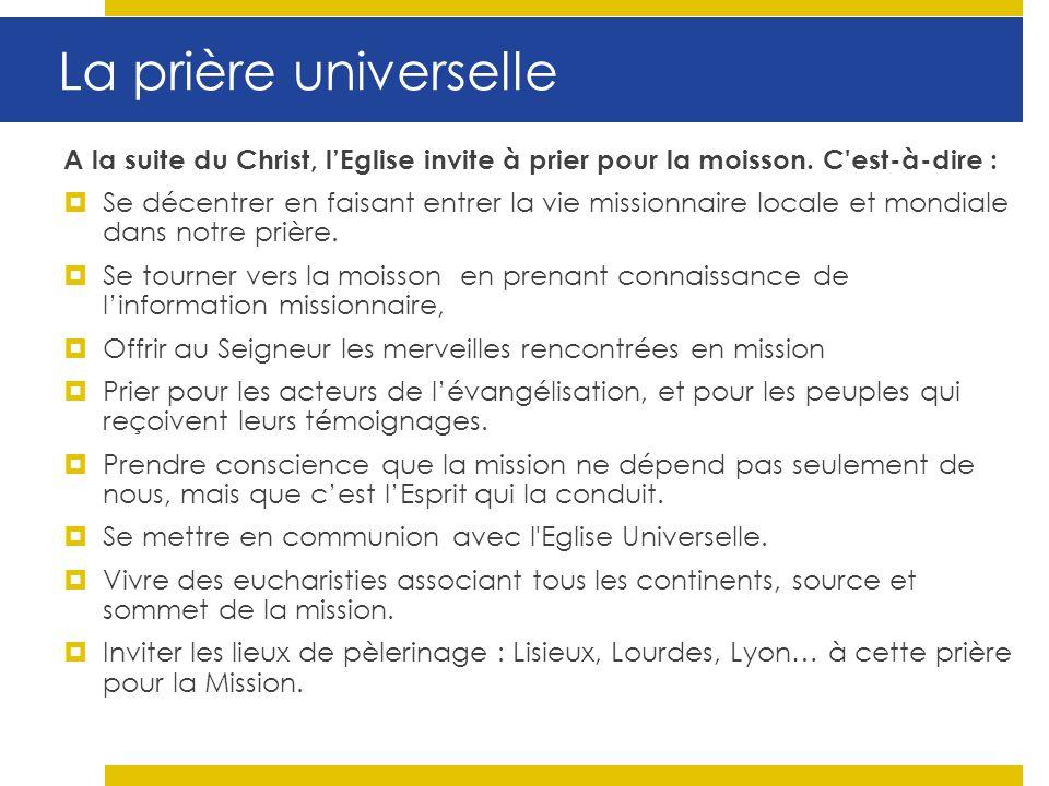 11) « Ils partirent de villages en villages » (Luc 9, 6) Lanimation missionnaire en France