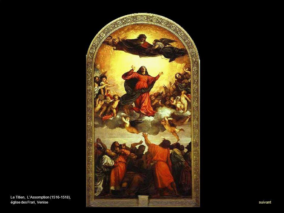 Le Titien, LAssomption (1516-1518), église des Frari, Venise suivant
