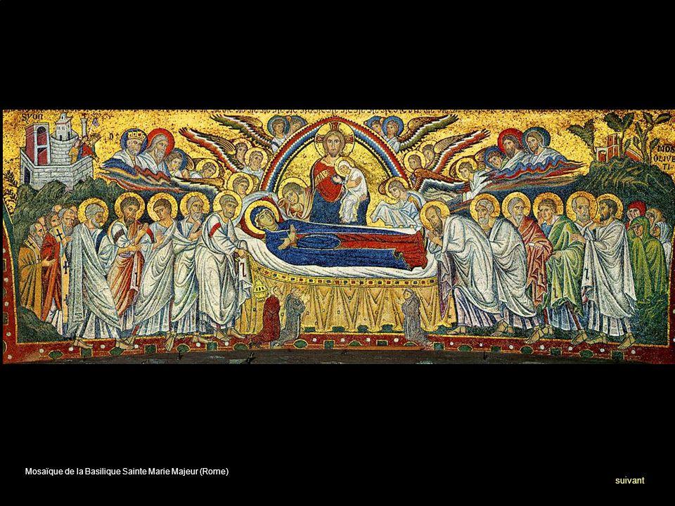 Mosaïque de la Basilique Sainte Marie Majeur (Rome) suivant