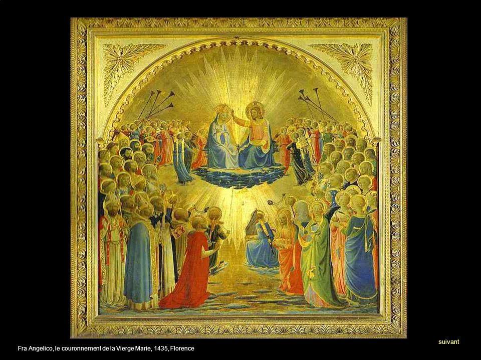 Fra Angelico, le couronnement de la Vierge Marie, 1435, Florence suivant