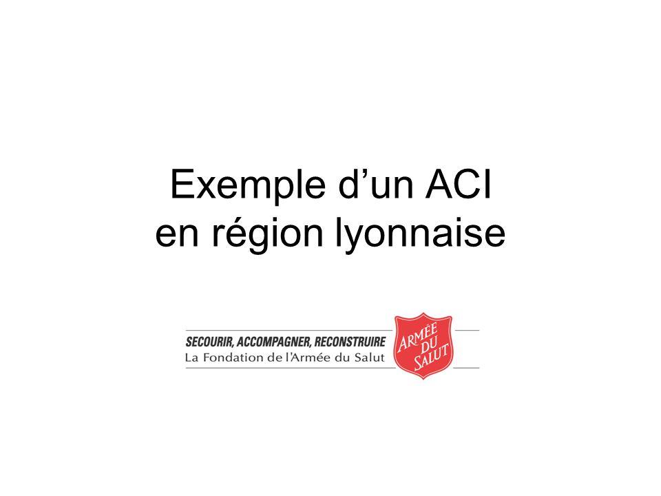 Exemple dun ACI en région lyonnaise