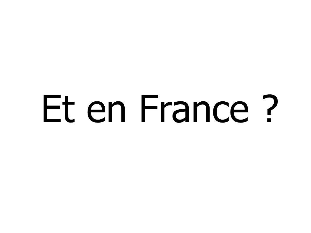 Et en France ?
