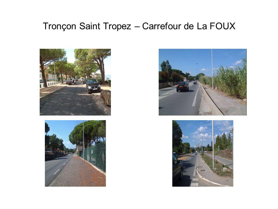 Tronçon Saint Tropez – Carrefour de La FOUX