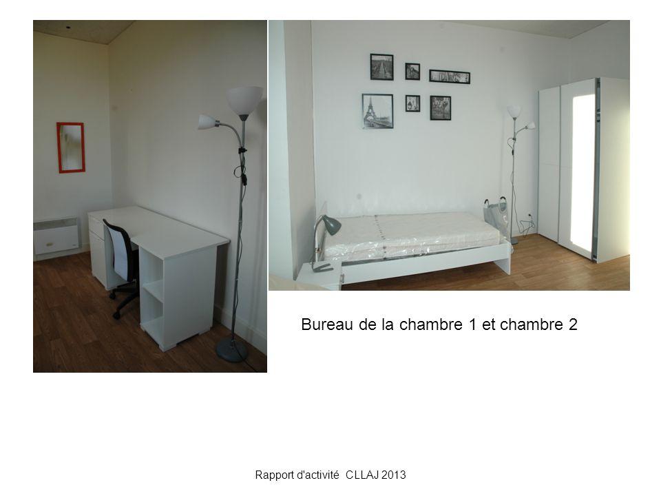 Rapport d'activité CLLAJ 2013 Bureau de la chambre 1 et chambre 2