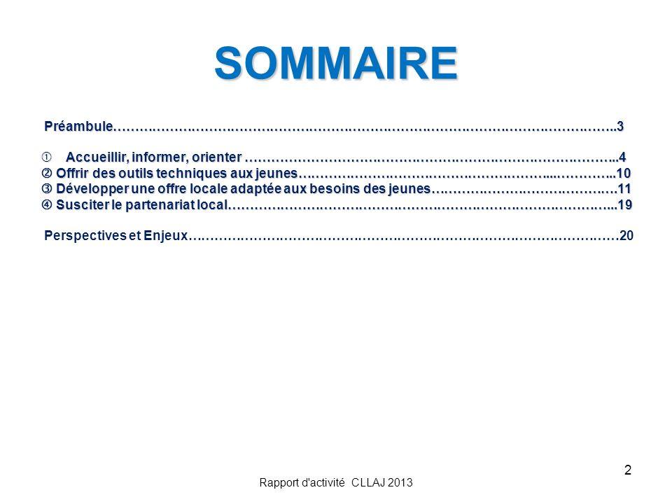 2 SOMMAIRE Préambule……………………………………………………………………………………………………..3 Préambule……………………………………………………………………………………………………..3 Accueillir, informer, orienter ………………