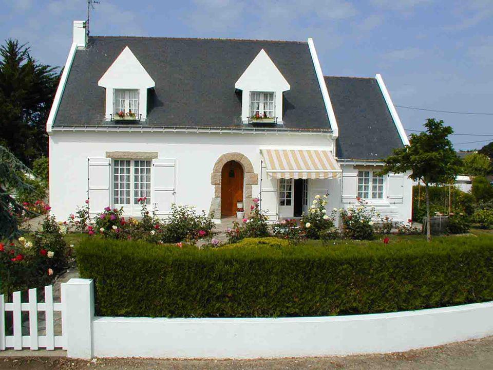 Maison moderne, mais typique du « Pays Blanc » daujourdhui