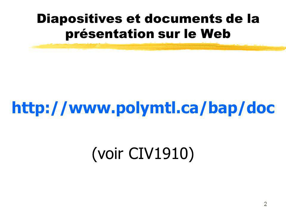 23 Programme 1. Élaboration de rapport 2. Conception de diapositives PowerPoint