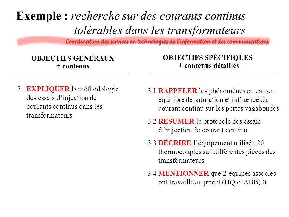 3.EXPLIQUER la méthodologie des essais dinjection de courants continus dans les transformateurs. 3.1RAPPELER les phénomènes en cause : équilibre de sa