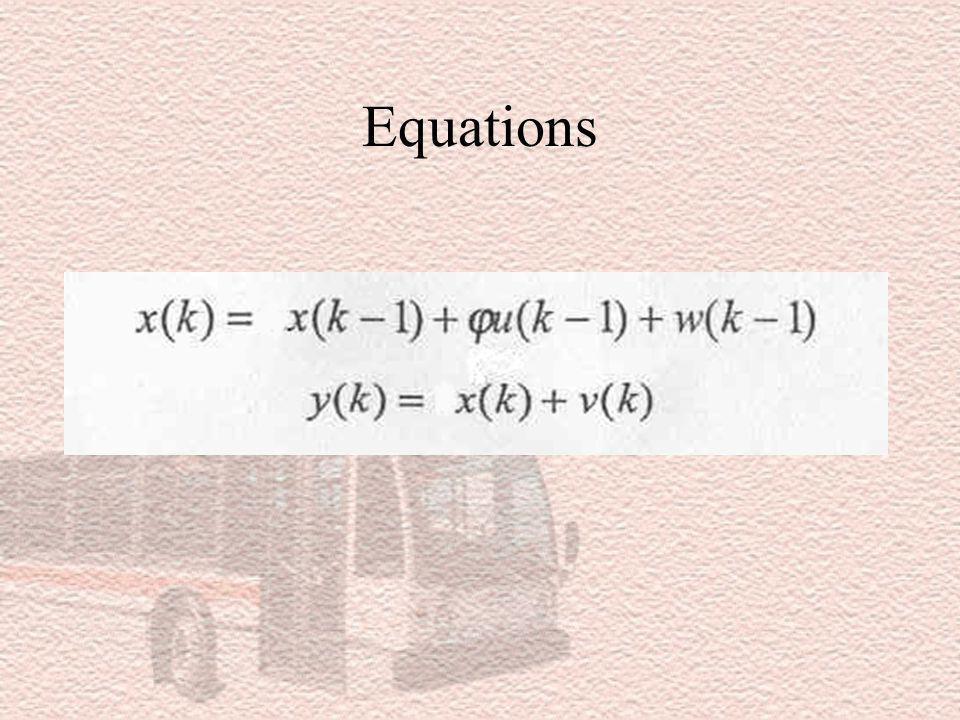 Solution de Kalman En labsence de données mesurées