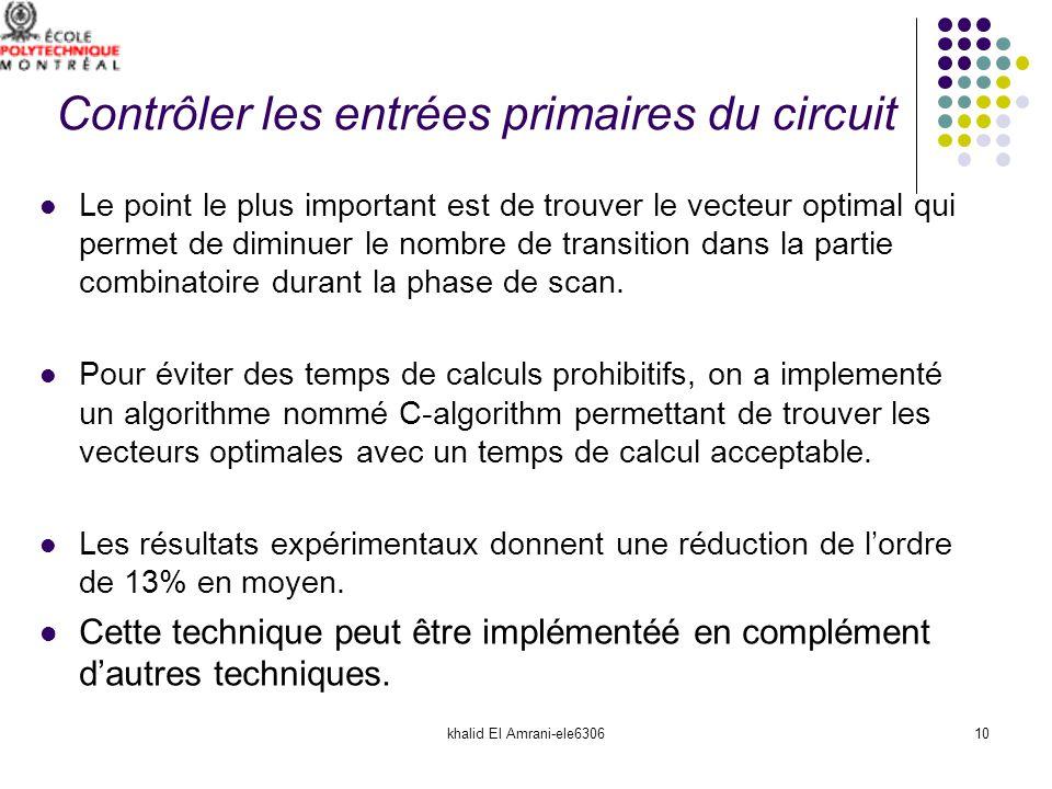khalid El Amrani-ele630610 Le point le plus important est de trouver le vecteur optimal qui permet de diminuer le nombre de transition dans la partie