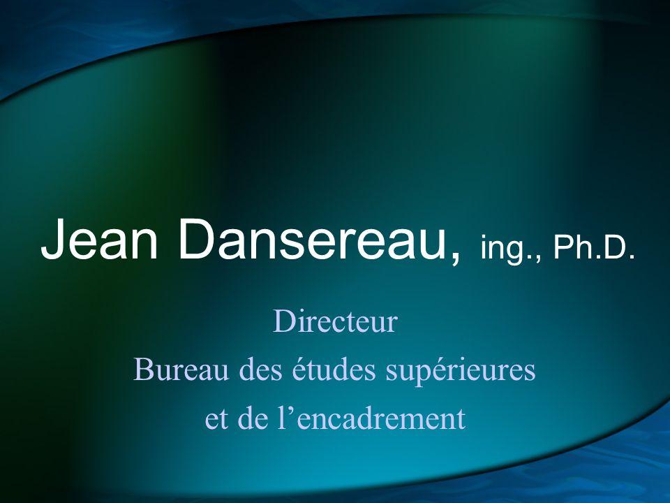 Marcel Arsenault Directeur Bureau des affaires étudiantes