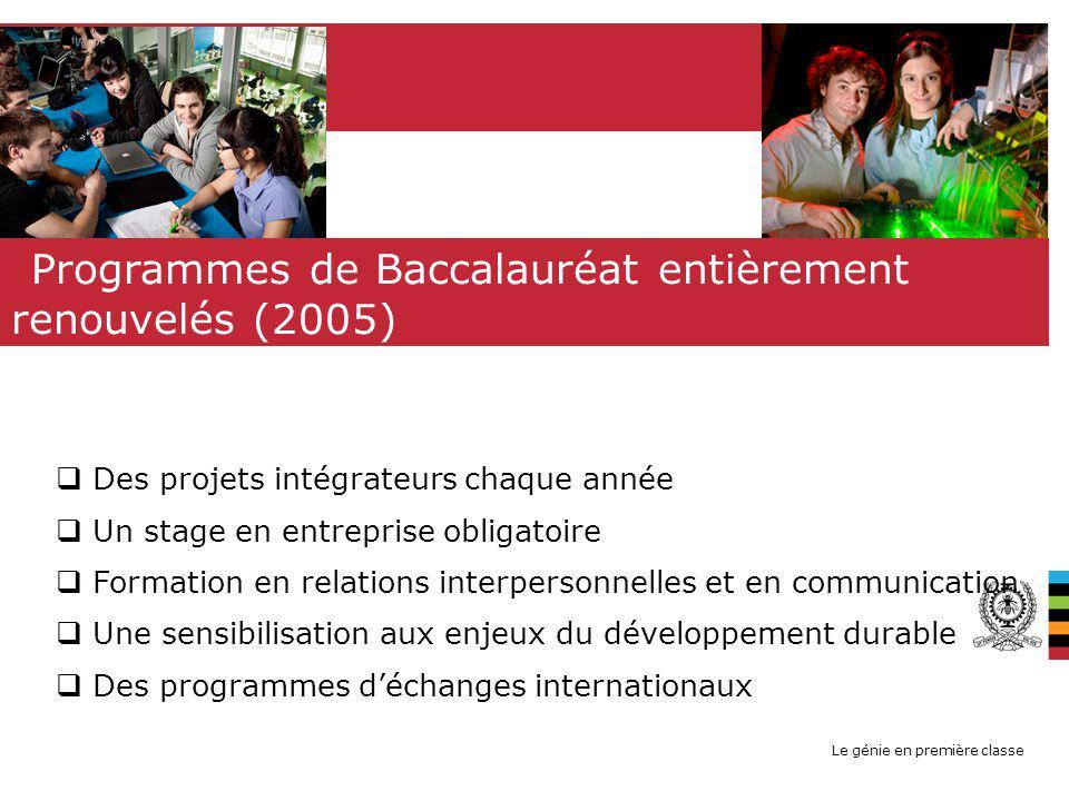 Le génie en première classe 12 QUALITÉS (BCAPG - BUREAU CANADIEN DAGRÉMENT DES PROGRAMMES DE GÉNIE) 6