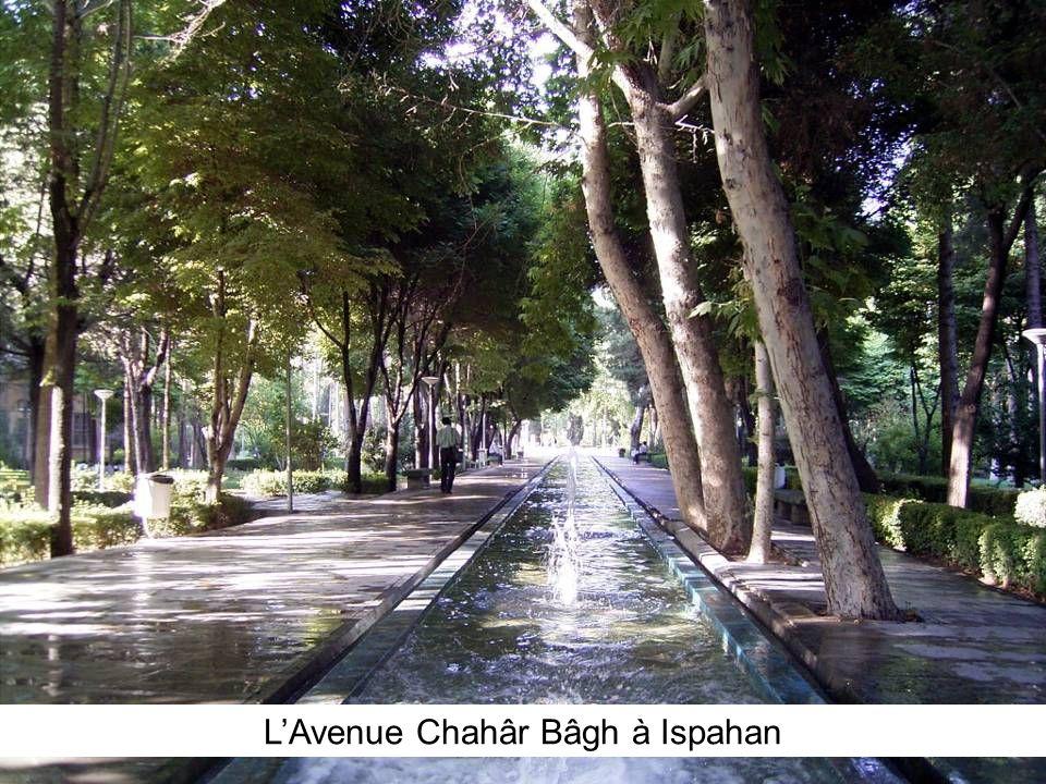 LAvenue Chahâr Bâgh à Ispahan
