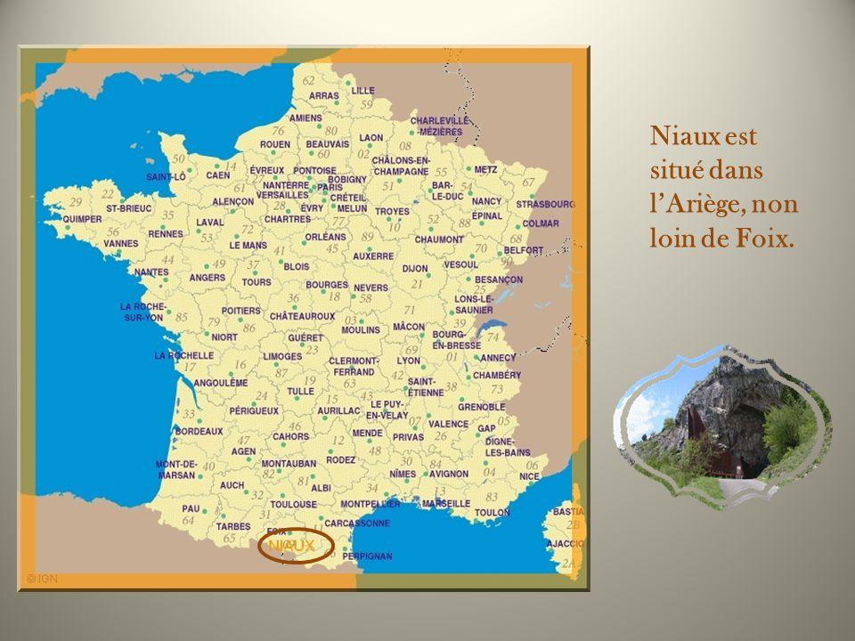 Avec celles de Lascaux, les peintures rupestres de la grotte de Niaux sont parmi les plus belles dEurope. De plus, cette grotte est lune des rares qui