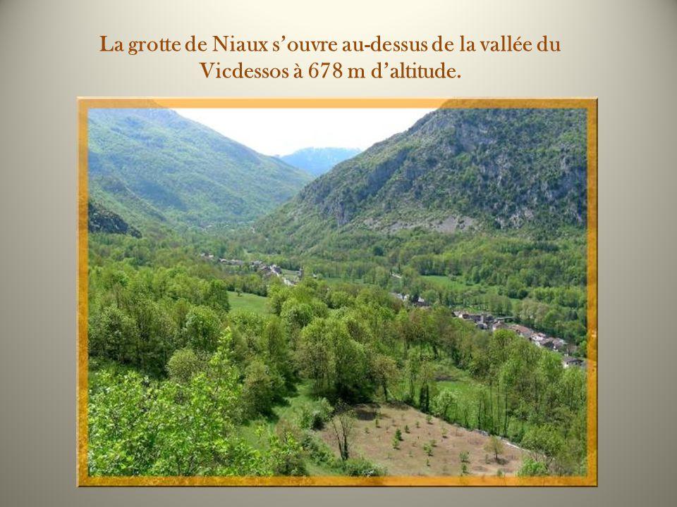 Niaux est situé dans lAriège, non loin de Foix.