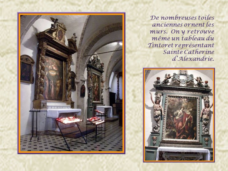 Léglise Collégiale des XIIe et XIIIe siècles a été restaurée au XVIIe.
