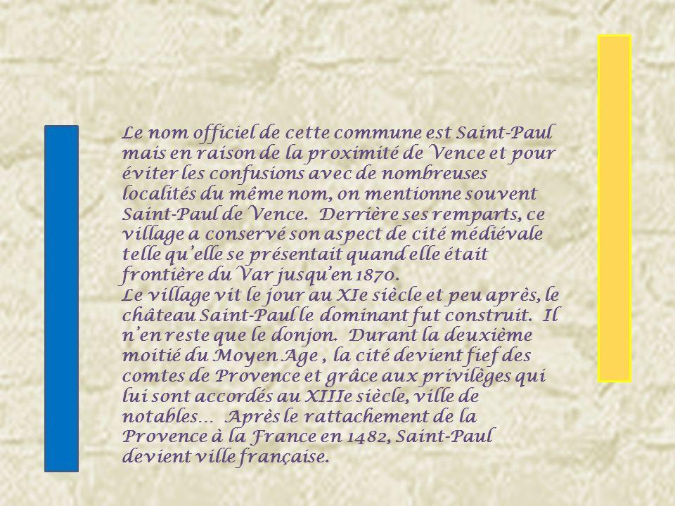 « Dazur à Saint- Paul de carnation, chevelé, barbé, auréolé et vêtu dargent, sappuyant de sa main dextre sur une épée et tenant dans la senestre un livre ouvert, le tout du même ».