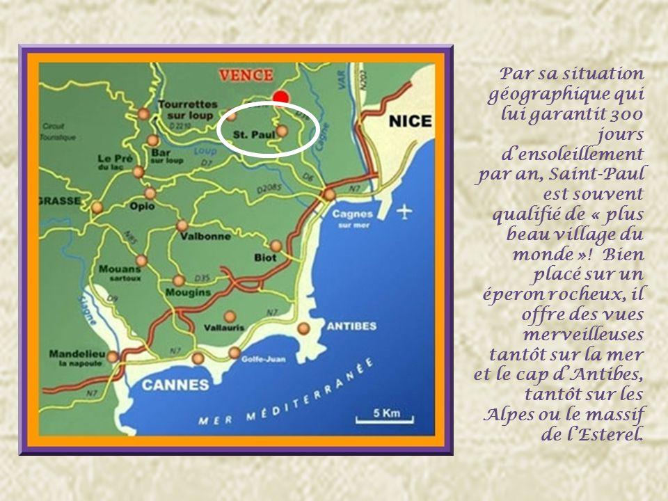 Le nom officiel de cette commune est Saint-Paul mais en raison de la proximité de Vence et pour éviter les confusions avec de nombreuses localités du même nom, on mentionne souvent Saint-Paul de Vence.