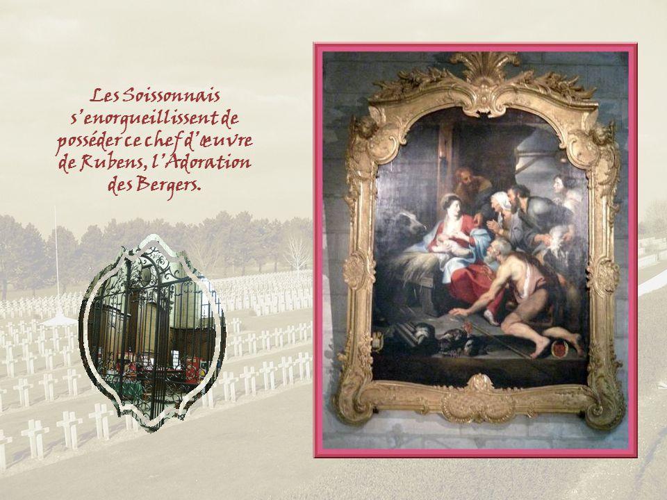 Evocation du martyre de Saint Crépin et Saint Crépinien, qui eut lieu à Soissons au IIIe siècle. A noter cependant que les Anglais, eux, les font vivr