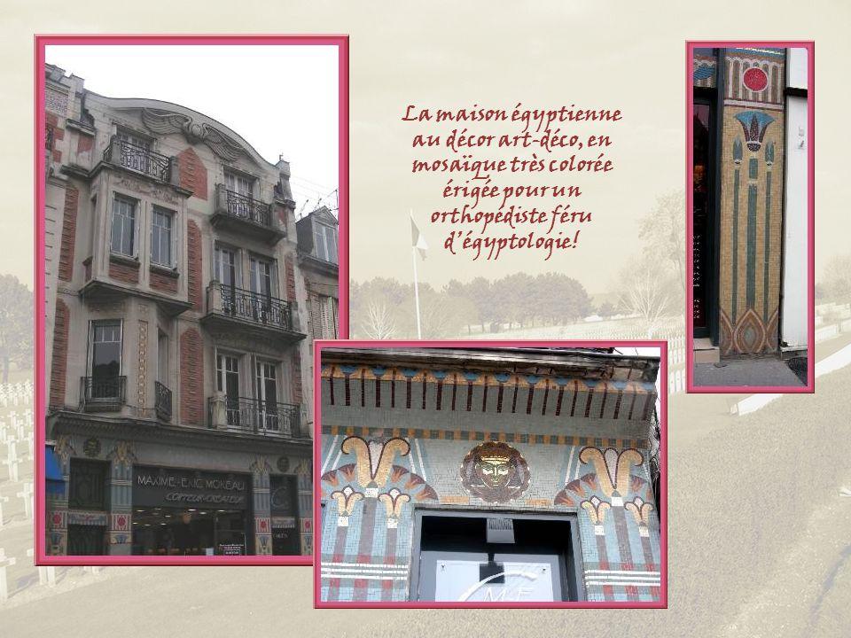Lune des constructions les plus fantaisistes daprès la guerre de 14, lancien hôtel de la Coupole construit en 1923 par le ferronnier Naudin.