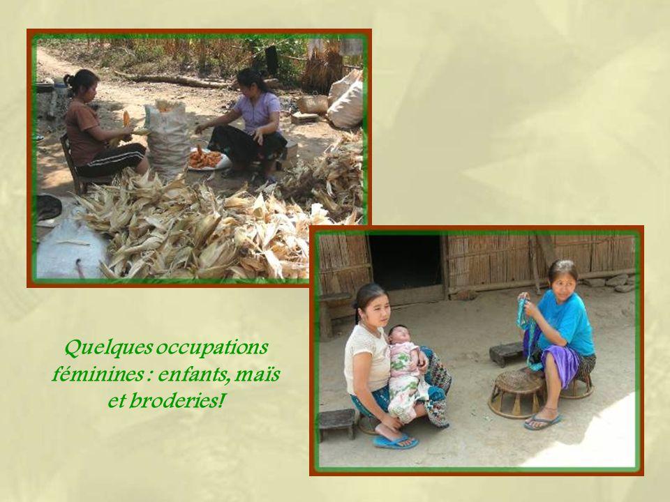 Dans un village Hmong…