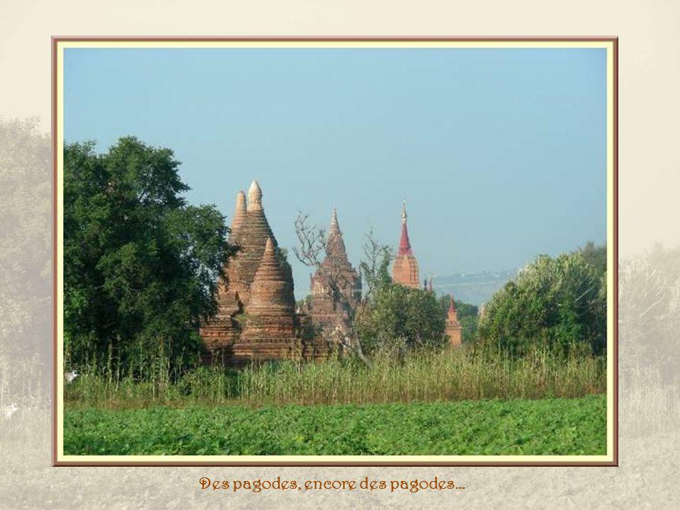Pagode That Byin Niu et le musée archéologique dans le lointain…