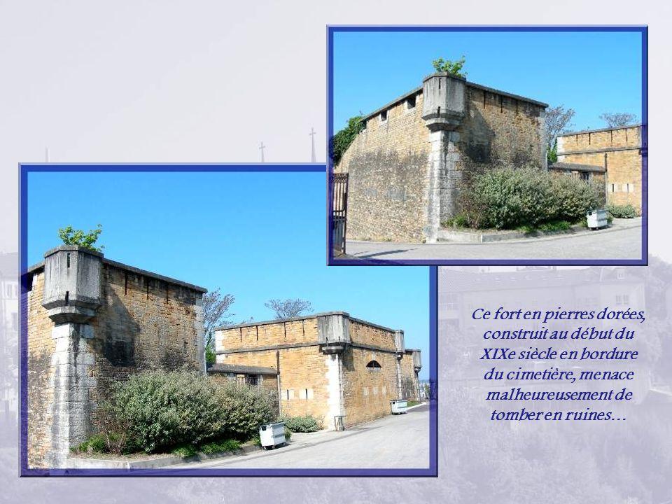 Ce monument a été élevé en mémoire des pompiers décédés lors de la grande catastrophe de la raffinerie de Feyzin en bordure de lautoroute non loin de Lyon : un champignon enflammé de 600 m de hauteur fit 18 morts dont 11 pompiers.