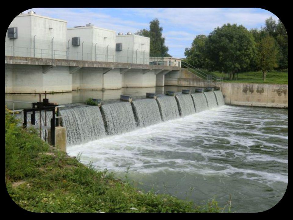 Barrage – écluses et centrale hydroélectrique de Port Mort