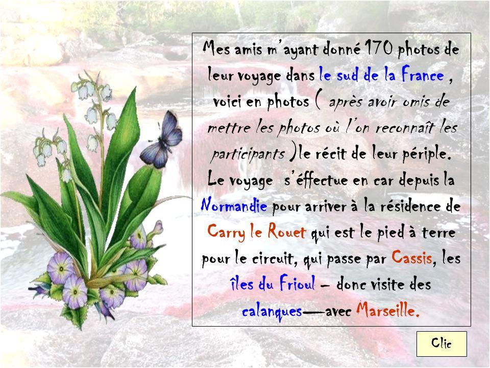 Les vacances en Provence de Maryse et Gérard ( Mars 2013 ) Le rocher aux oiseaux Sonorisé et Automatique