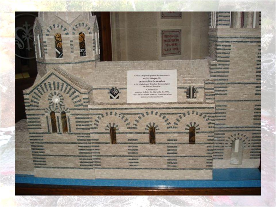 Notre Dame de la Garde Lintérieur de la Basilique