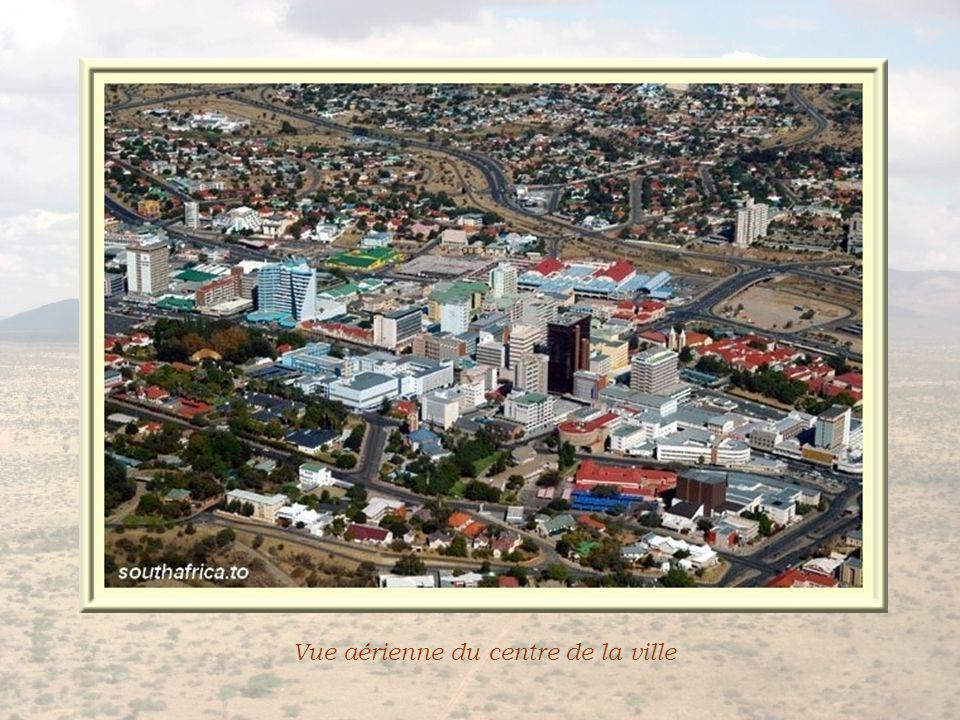 Vue aérienne du centre de la ville