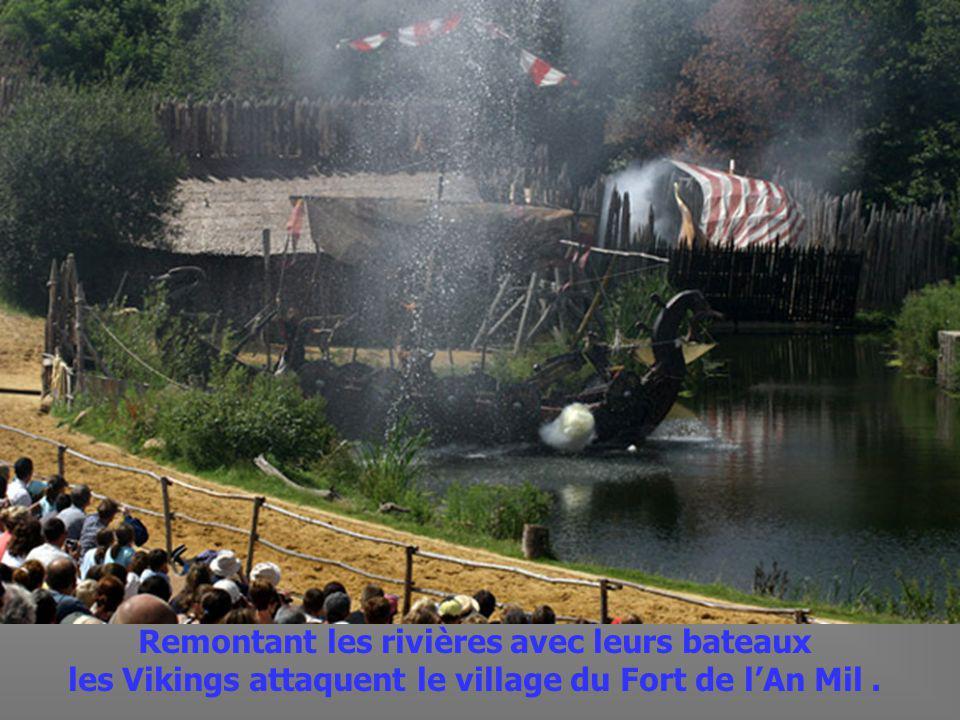 L attaque des Vikings au Fort de l An Mil.
