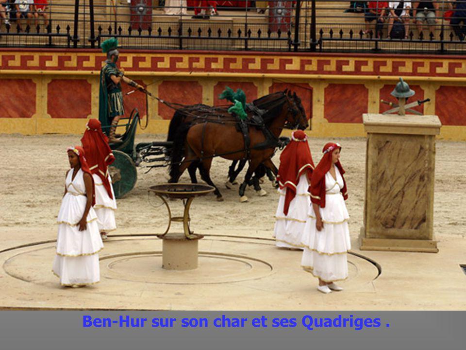 Combat de Gladiateurs.