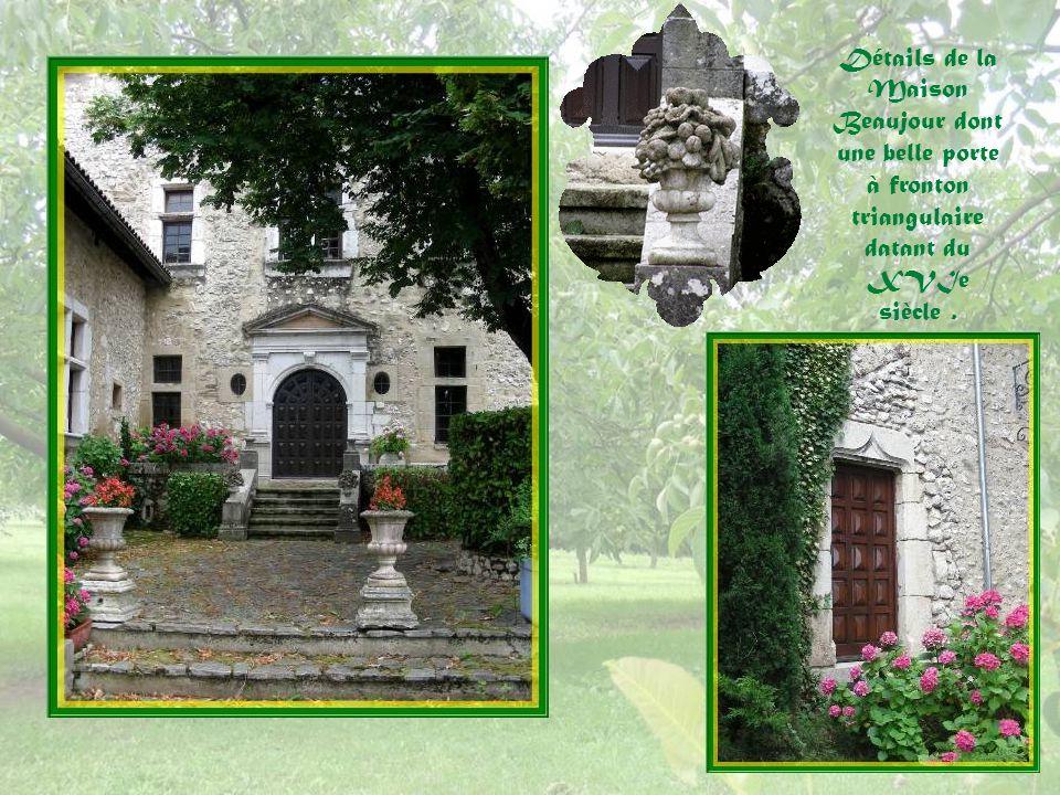 Après 1580, une Maison forte, nommée Beaujour, est construite pour Sébastien de Lionne, anobli par Henri III.
