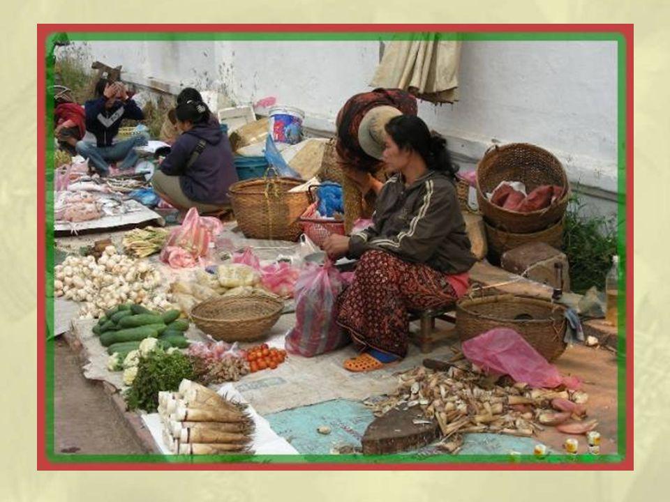 De jour cette fois, une petite trempette au marché local avec quelques surprises concernant la marchandise offerte au public.