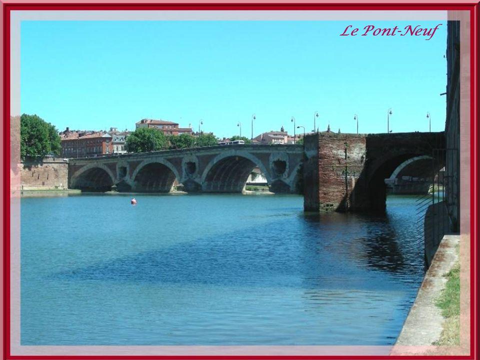 Une promenade est aménagée sur la rive gauche entre le pont des Catalans et le long de lhôpital de La Grave.