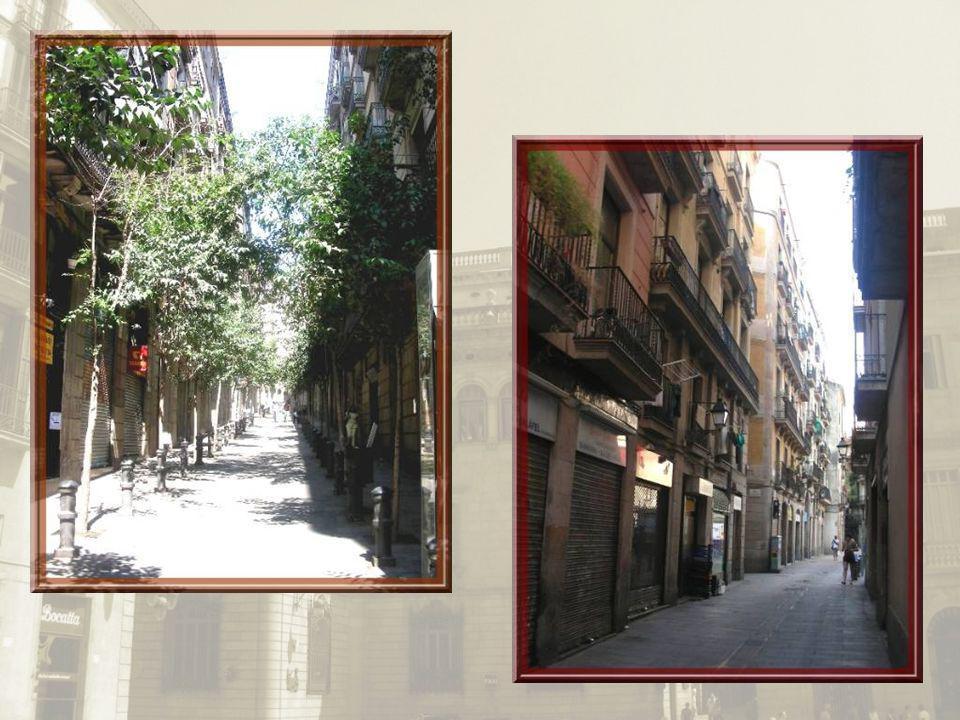 Le cœur historique de Barcelone, cest le Barri gotic. ainsi appelé à cause de la présence de nombreuses constructions des XIIIe, XIVe et XVe siècles.