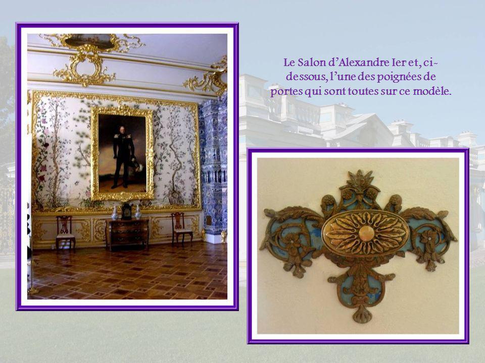 La Petite Salle à manger blanche Ses murs sont tendus de soie blanche, doù son nom.