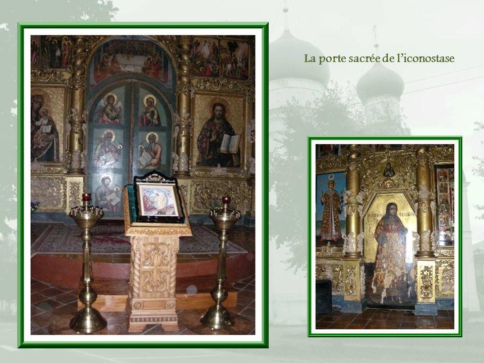 Les fresques de la cathédrale relatent des passages de lévangile.