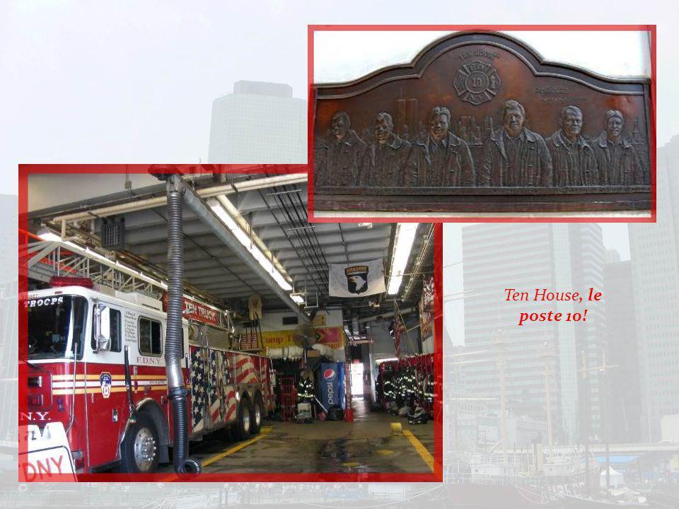 Une plaque pour les pompiers disparus ce jour-là…