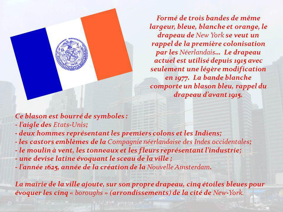 En 1664, la cité fut rebaptisée New York en lhonneur du Duc dYork lorsque les Anglais obtinrent la victoire.