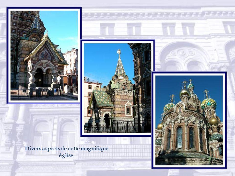 La composition de la façade représentant la Résurrection est due à Mikhaïl Nesterov.