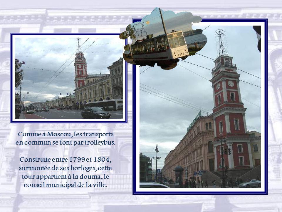 Des églises de différentes confessions valent à la perspective Nevsky le surnom de rue de la Tolérance.