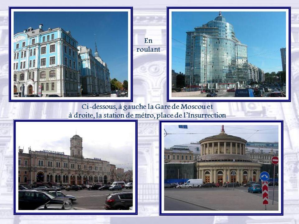 Non loin, le palais Ioussoupov abrite le musée historique et culturel.